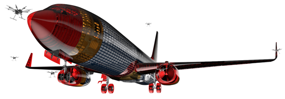 Collision Test Aircraft Model