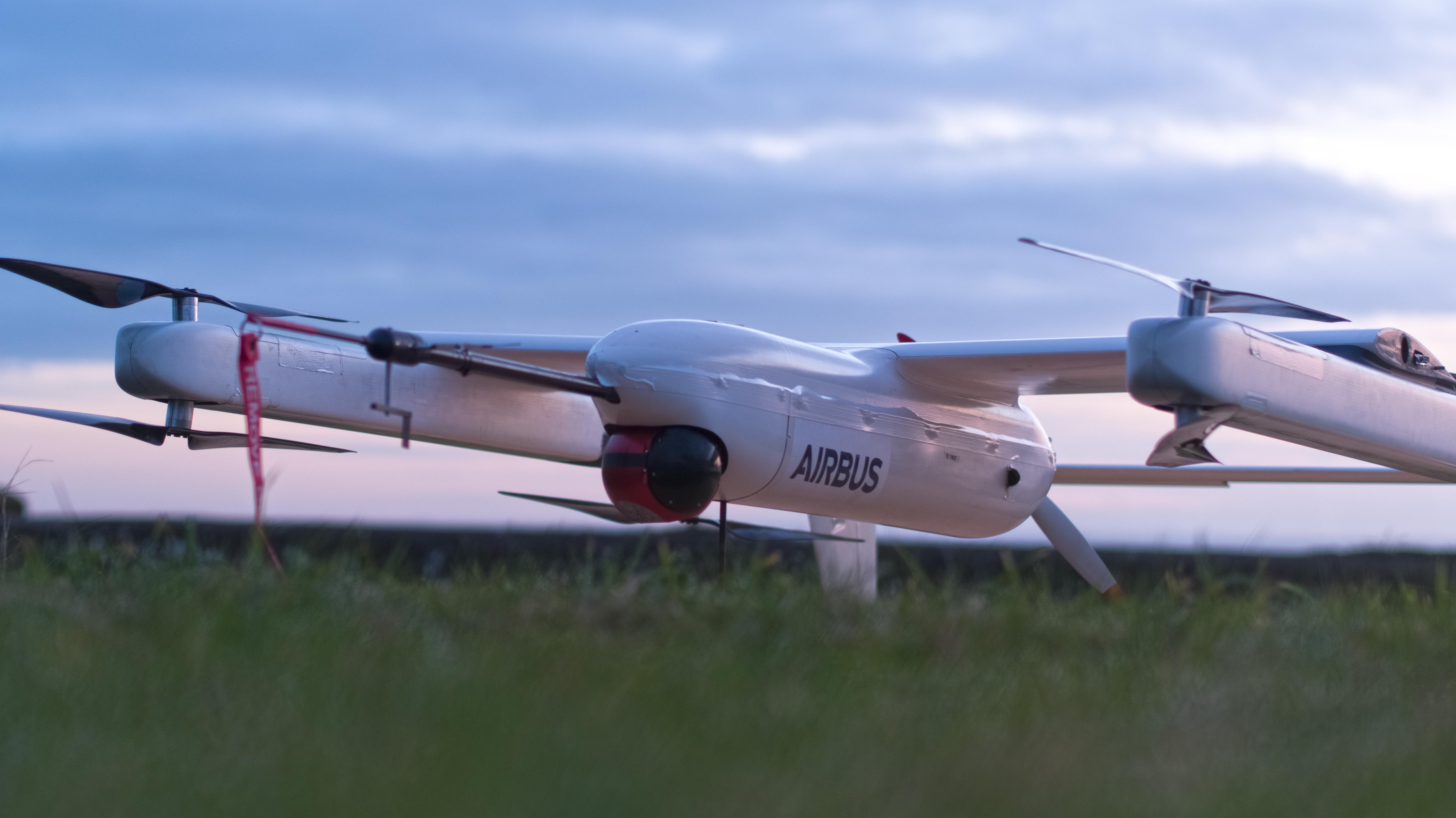 Airbus Quadcruiser Drone