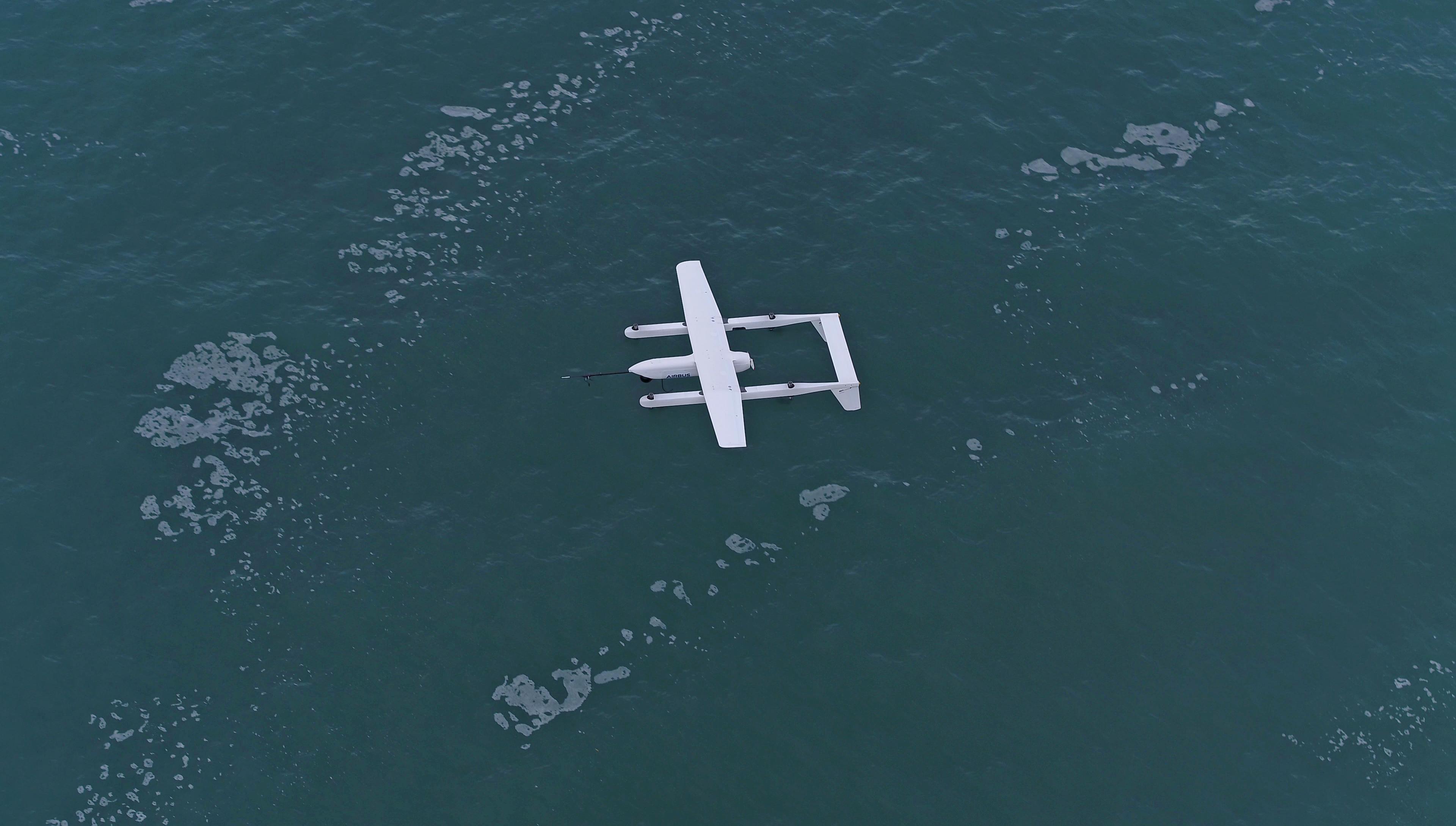 Airbus Quadcruiser Drone Overhaead View