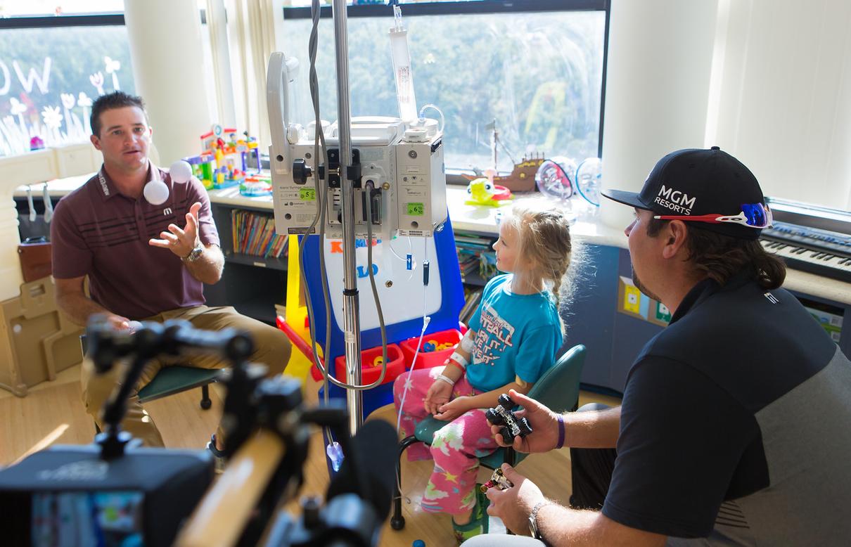 PGA Tour Golfers at the Blair E Batson Children's Hospital